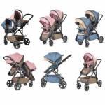 Baby Hope 6080 Totem Twın İkiz Bebek Arabası