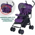 Baby Home Bh-104 Black Tam Yatarlı Baston Bebek Arabası