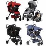 Babyhope Alüminyum Kasa, Çift Yönlü, Portatif Puset Bebek Arabası Ana Kucağı Lavida Plus 3076