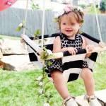 Svava Ahşaplı Bebek Salıncak - Çocuklar İçin Bahçe Salıncağı - Tavan Salıncağı - Çocuk Salıncağı